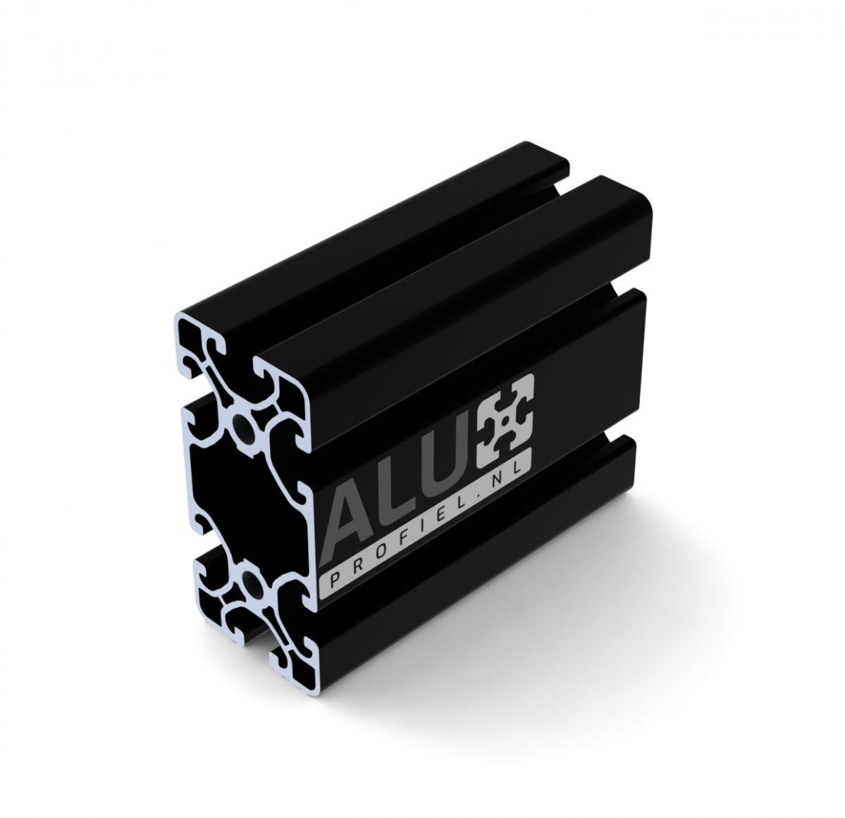 profiel 4080 40x80 zwart