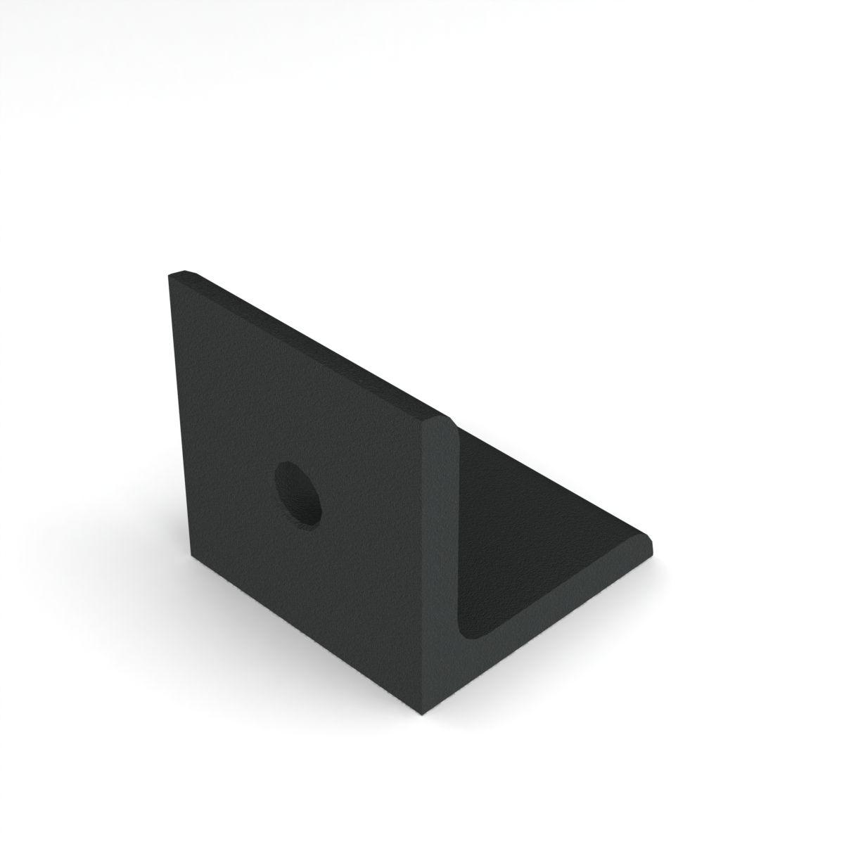 aluminium verbindingshoek 4040 zwart