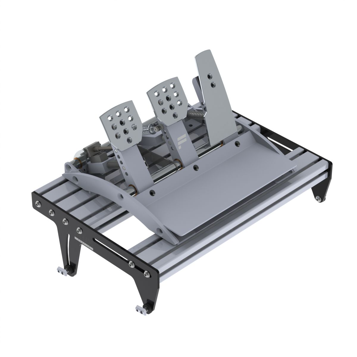 complete pedal tray set 600mm