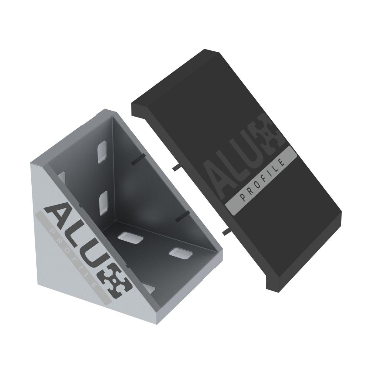 verbindingshoek aluminium 8080
